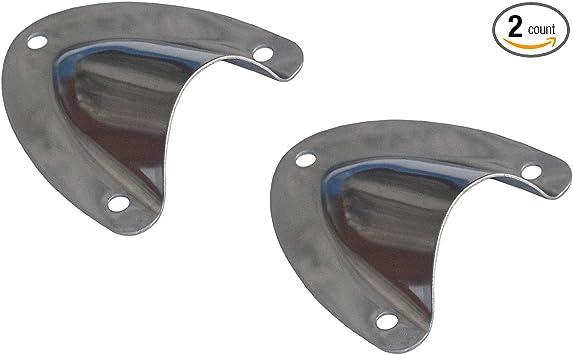 Amazon.com: Amarine-made - 2 abrazaderas de ventilación de ...