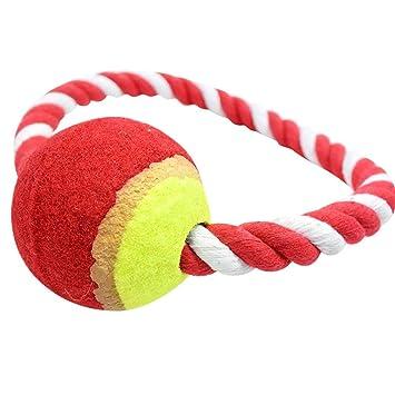Perro Cuerda Masticar juguete/bola de cuerda, Y56 de mascota Perro ...