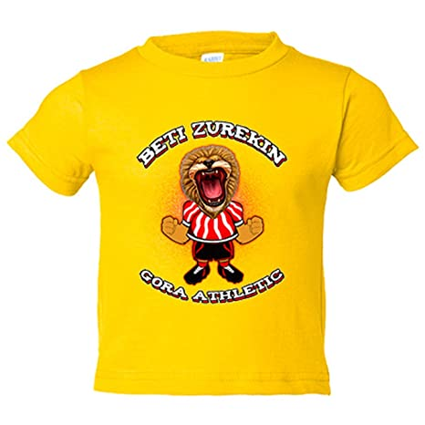 Camiseta niño Athletic Bilbao fútbol Beti zurekin - Amarillo, 3-4 años