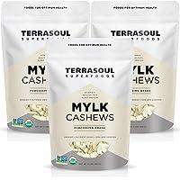 Terrasoul Superfoods Organic Raw Cashews (Mylk Grade), 6 Pounds