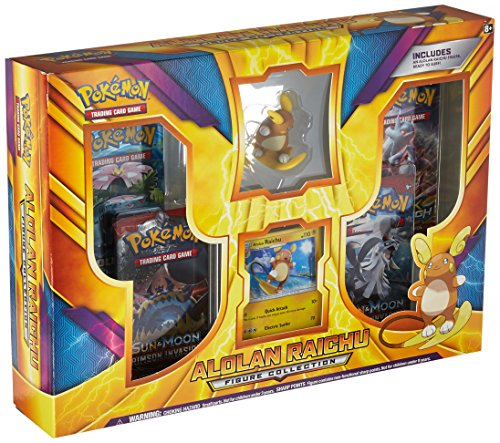 Pokemon Alolan Raichu Collectible (Power Battle Box)