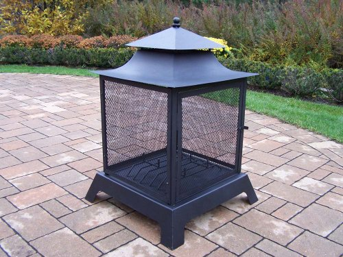 Oakland Living Full View Fire Pit (Pagoda Fire Pit)