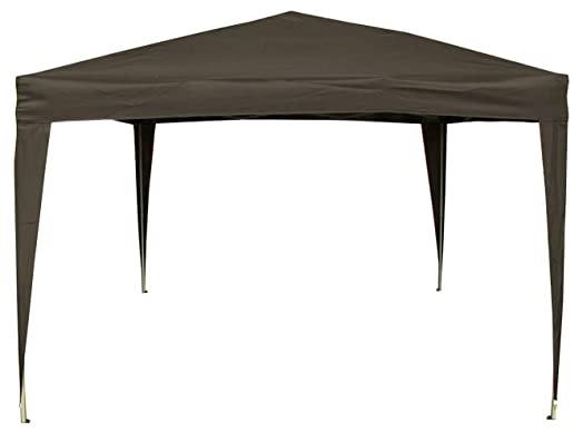 Airwave 3 X 3m Pop Up Gazebo Canopy No Sides Black