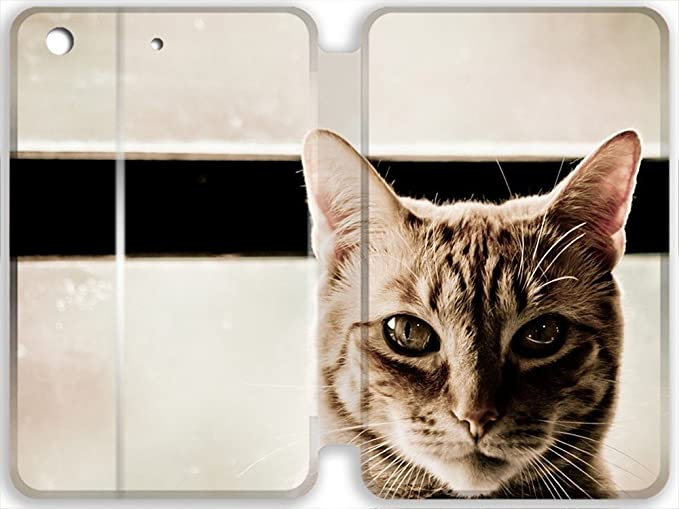 Image Unavailable. Personality Pictures Customized Cat Skin Leather Case -   Source a77138487caba