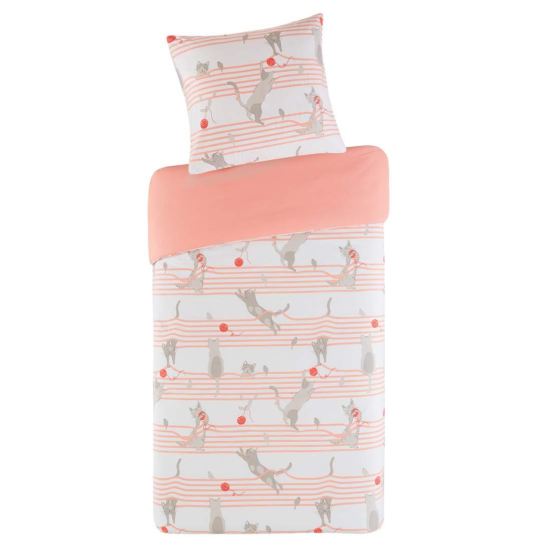 Kinderbettwäsche Garnitur 100x135cm Bettbezug Baumwolle Babybettwäsche Bettwäsche