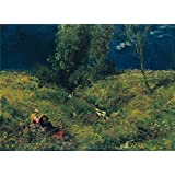 polyster Canvas ,the Best Price Art Decorative Canvas Prints of oil painting 'Hans Thoma Sommer ', 24 x 33 inch / 61 x 84 cm is best for Nursery artwork and Home artwork and Gifts