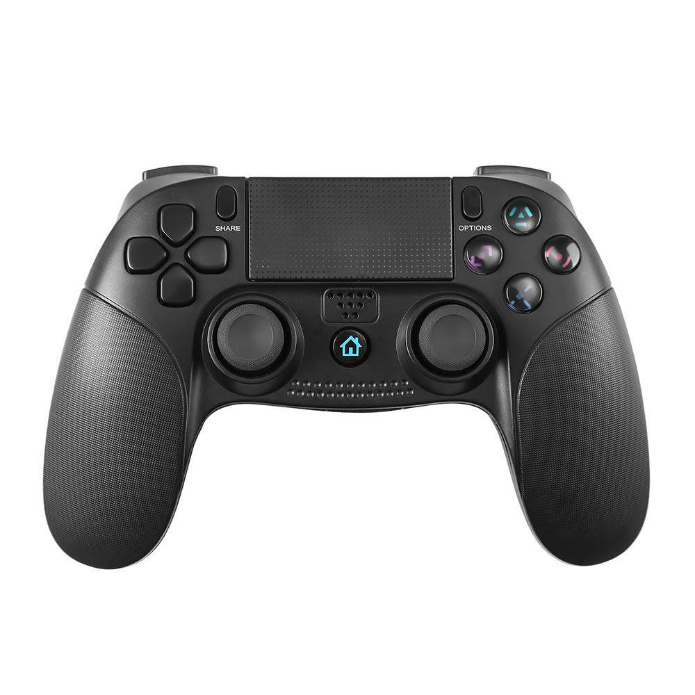 STOGA Wireless Controller Compatible with PS 4, USB Wired Controller for PS 3 Game Controller with Vibration Feedback