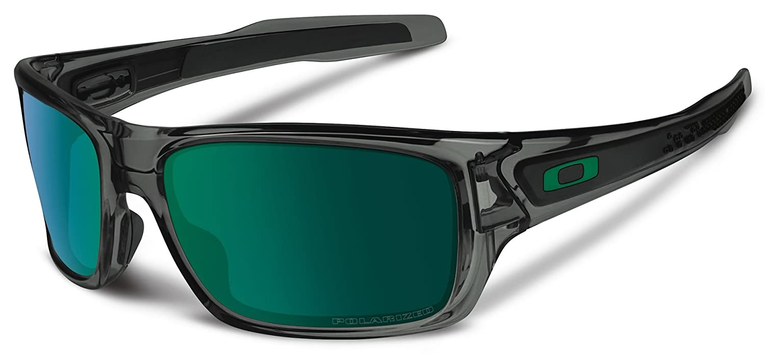oakley turbine polarized jade iridium