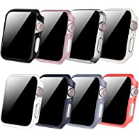 Fintie [8 Color Pack] for Apple Watch Series 5 / Series 4 Case 44mm, Slim Lightweight Hard Protective Bumper Cover for iWatch Series 5 4
