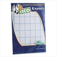 Tico 947904 Etichette adesive, 10 Pezzi, Bianco