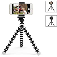 Digtal Camera Tripod Mount Stand Camera Holder Compatible with iPhone X Xs XR Xs Max 8 7 7 Plus Digtal Camera Galaxy s10 Plus S9+ S8 S7 S7 Edge Camera and More (Phone Tripod)