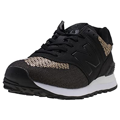 quality design 84d0a 855c9 Amazon.com: New Balance Women's Ml574 Tech Raffia: Shoes