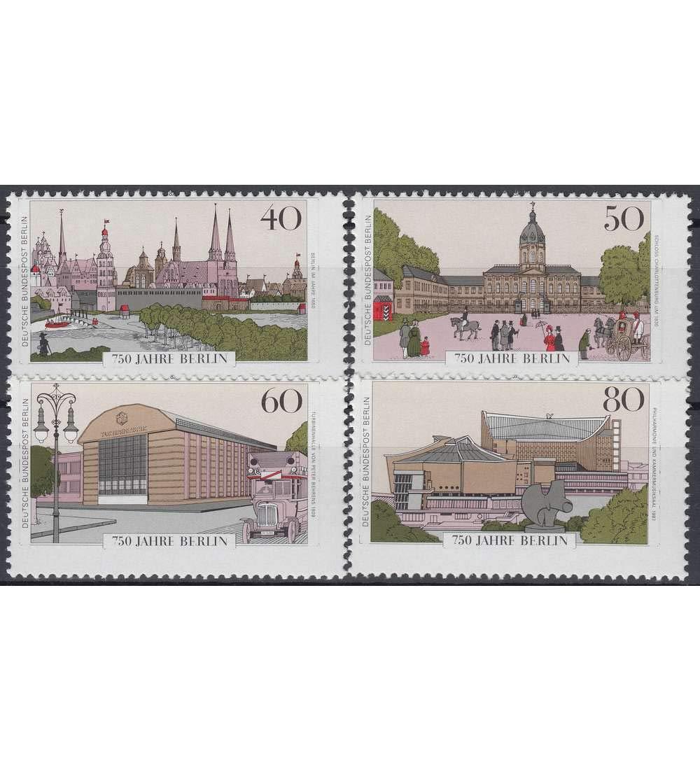 Goldhahn Berlin Nr. 772-775 postfrisch  verschobenes Markenbild Briefmarken für Sammler