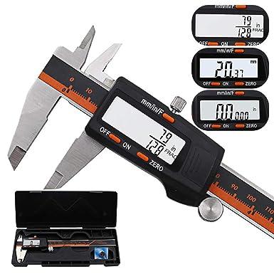 Amazon.com: Jonerytime - Calibrador digital de acero ...