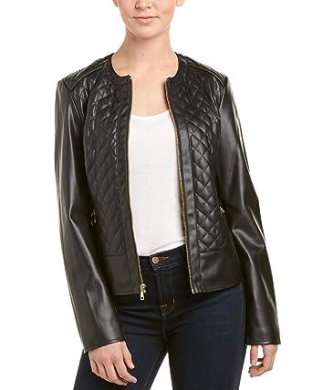 24e94115906d8 Cole Haan Quilted Scuba Jacket Medium at Amazon Women s Coats Shop