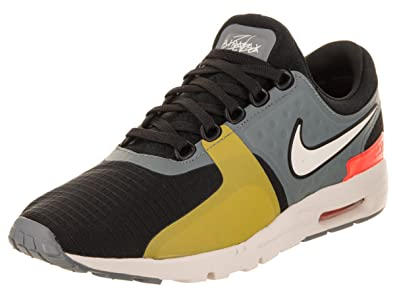 NIKE Women's Air Max Zero SI Black/Light Bone Cool Grey Running Shoe 6 Women
