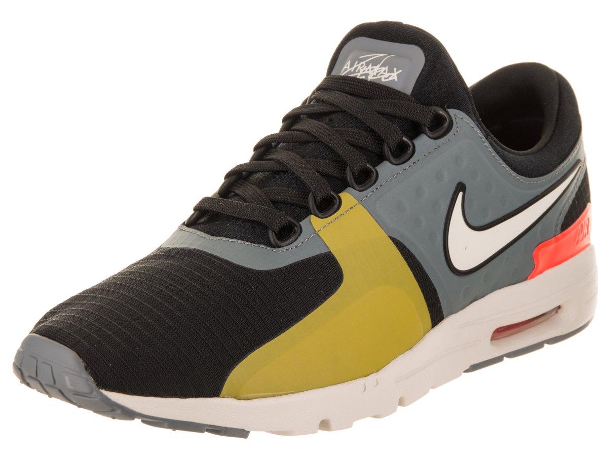 NIKE Women's Air Max Zero SI Black/Light Bone Cool Grey Running Shoe 12 Women US