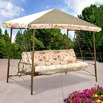 Gazebo Swing Replacement Canopy Top Cover- RipLock 350 & Amazon.com : Gazebo Swing Replacement Canopy Top Cover- RipLock ...