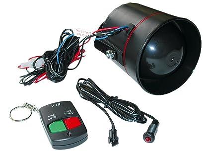 Eufab - Sistema de alarma para coche de fácil montaje ...