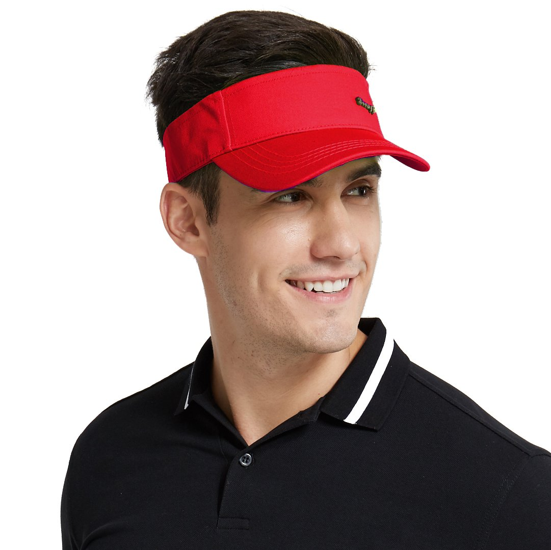 Teeoff Sun Visor for Men Women Cotton One Size Sports Cap Adjustable Hat