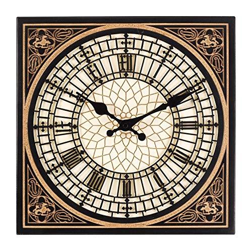 Smart Garden Little Big Ben Style British Houses of Parliamant London Indoor Outdoor Garden Wall Clock