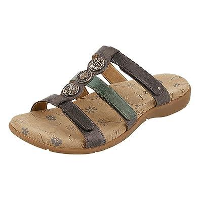 Taos Footwear Women's Prize 3 Blue Multi Sandal 6 B (M) US