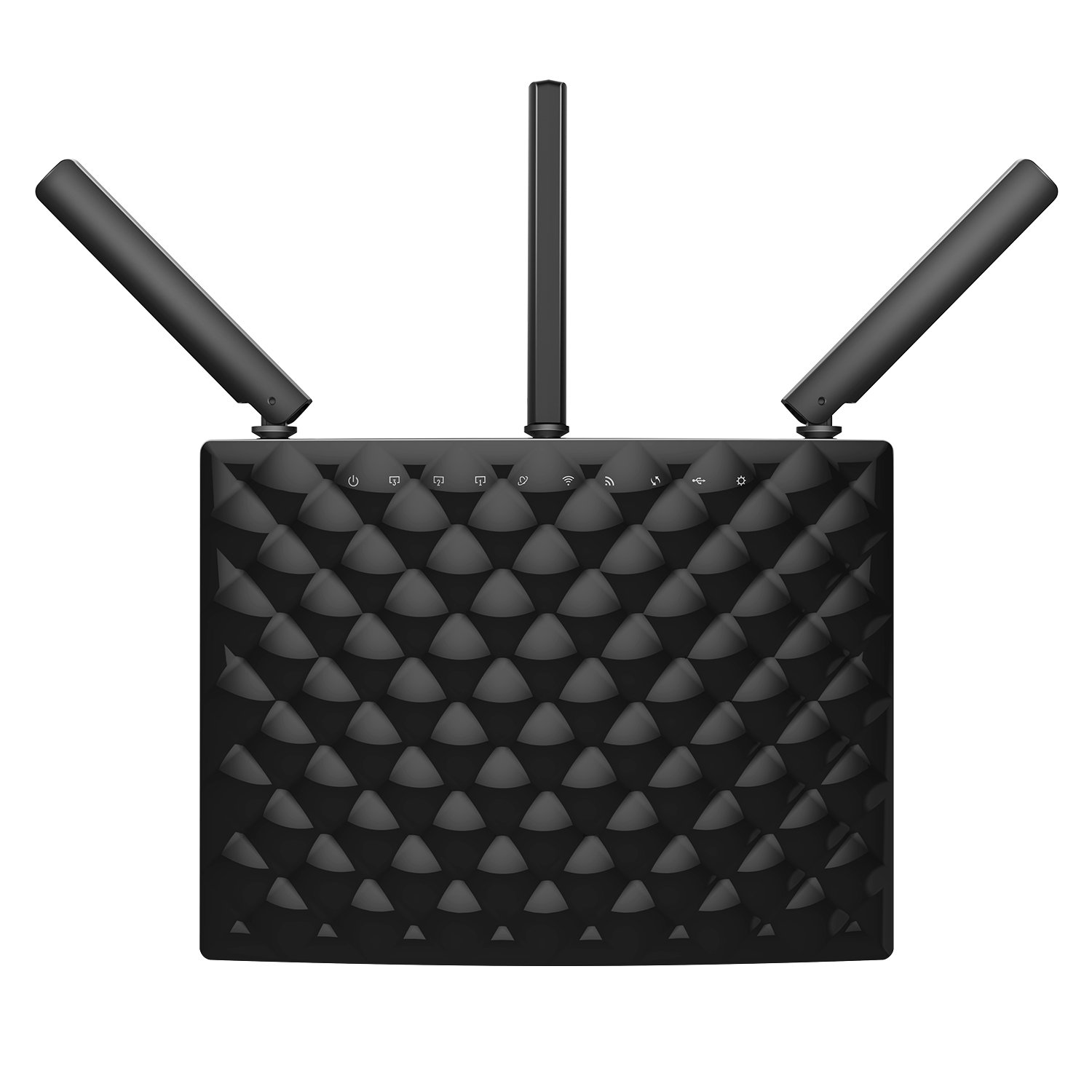 Tenda AC15 AC1900 Wireless Wi-Fi Gigabit Smart Router, Black by Tenda