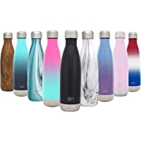 Simple Modern Wave Water Bottle - Vacuum Insulated Double-Walled 18/8 Stainless Steel Flask Travel Mug