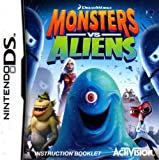 Monsters vs Aliens DS Instruction Booklet (Nintendo DS Manual ONLY - NO GAME) Pamphlet - NO GAME INCLUDED