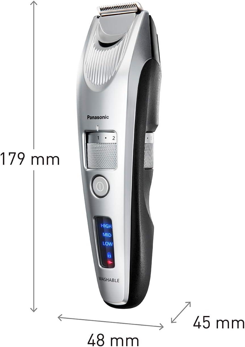 Panasonic ER-SB60 - Barbero profesional, color plata: Amazon.es: Salud y cuidado personal