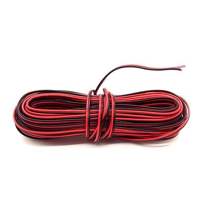 1 opinioni per BlueXP 10M Rosso e Nero Filo di Gomma Silicone Rosso Nero Dual Core Elettronica
