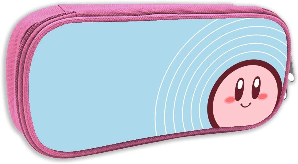 Bonito Estuche para lápices con diseño de Kirby para Adultos y niños, con Cremallera, Ideal para la Oficina de Estudiantes: Amazon.es: Hogar