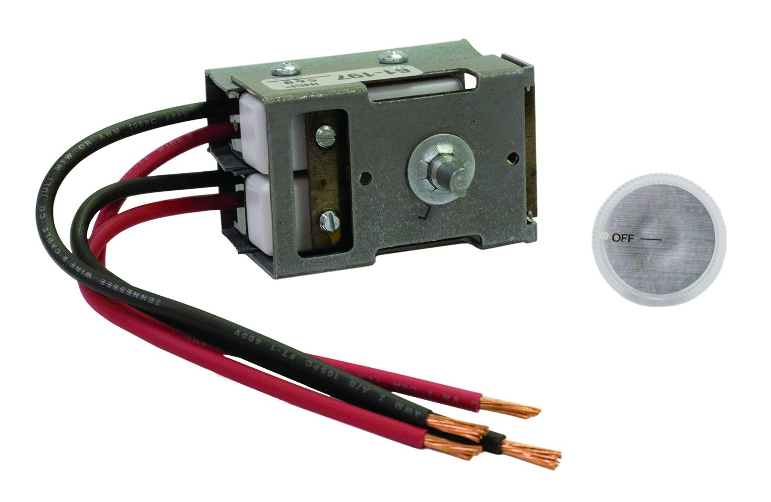 Tpi 43t2 Double Pole Thermostat For Series 4300 Low Profile Fan Empire Wall Heater Wiring Forced Industrial Scientific