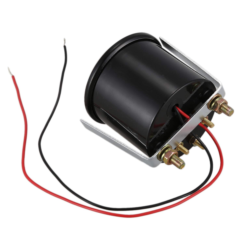 WOVELOT 2 52mm Metre de Cadran dAuto 8-16V Voltmetre pointeur Tension Volts jauge Lumiere LED Bleue