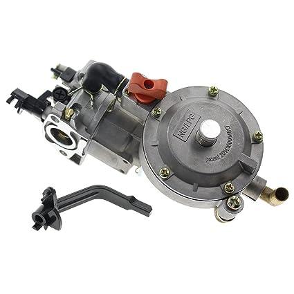 goodeal doble combustible GLP generador de carburador de ...