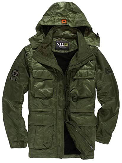 7956e30ae07 FGYYG Autumn Winter Men s Thicken Warm Military Waterproof Jacket Fashion  Hooded Multi-Pocket Parka Windbreaker