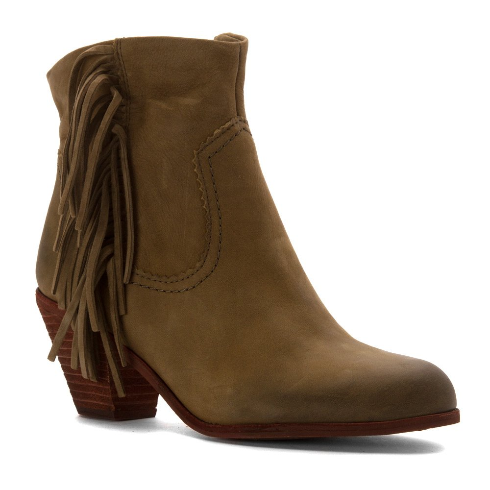 eb1d19d3a9c539 Sam Edelman Women s Louie Fringe-Trimmed Ankle Boot  Amazon.ca  Shoes    Handbags