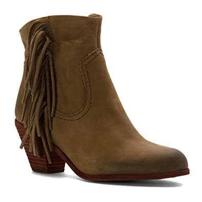 711bf79c10347 Sam Edelman Women s Louie Fringe-Trimmed Ankle Boot  Amazon.ca ...