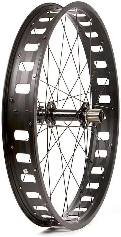 Black 26 inch 26x4.0 559x54 Origin8 Alloy Fat Disc Bicycle Wheel