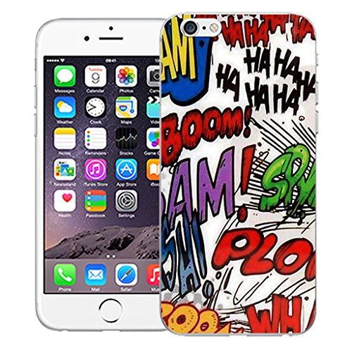 """Mobile Case Mate iPhone 6S Plus 5.5"""" Silicone Coque couverture case cover Pare-chocs + STYLET - Animation pattern (SILICON)"""