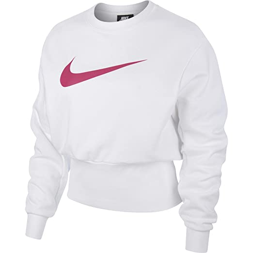 4bd3b21ac859 Nike Damen Crew Swoosh Longsleeve  Amazon.de  Sport   Freizeit