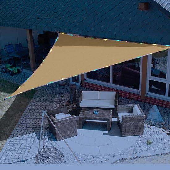 Sunnykud 12'x12'x12' Triangle Sun Shade Sail