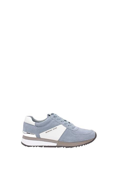 Michael Kors - Zapatillas para Mujer Azul Azul Celeste Azul Size: 36: Amazon.es: Zapatos y complementos