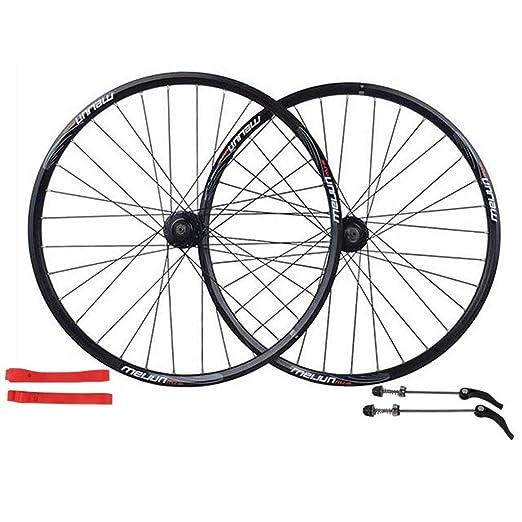 Knoijijuo Juego de Ruedas para Bicicletas de montaña de 26 ...
