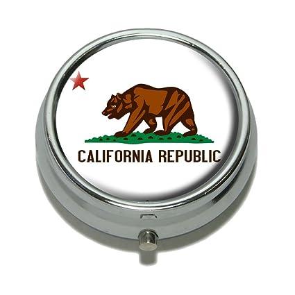 Amazon.com: Bandera de la República de California píldora ...