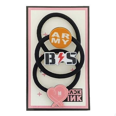 Bestomrogh - Juego de 3 unidades de Kpop BTS Blackpink, mismo ...