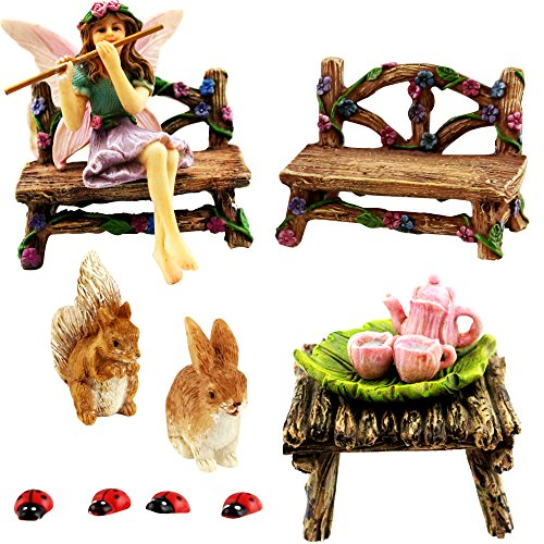 Fairy Garden Starter Kit 14 pc set