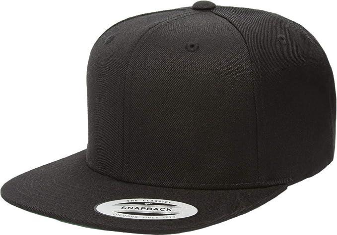 ee33bac00db Flexfit Yupoong Premium Classic Snapback Hat