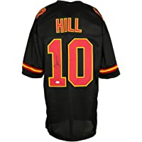 $149 » Tyreek Hill Signed Custom Pro-Style Black Football Jersey JSA
