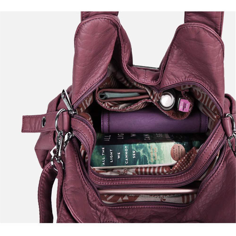 7cdf14db1c3d6 ... LBYMYB Damen Tasche Europa Und Amerika Einfarbig Modetrend Modetrend  Modetrend Weibliche Umhängetasche Große Kapazität Diagonale Weibliche
